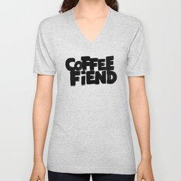 COFFEE FIEND Unisex V-Neck