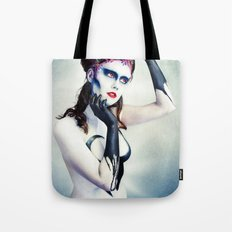 Queen of hearts full Tote Bag