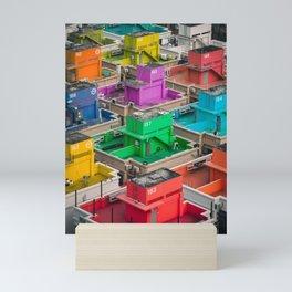 Rainbow Real Estate Mini Art Print