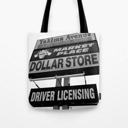 Yakima Ave. Plaza Tote Bag