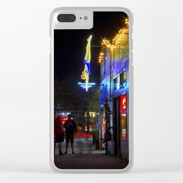 High Dive Clear iPhone Case