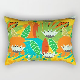 Watermelons and carrots Rectangular Pillow