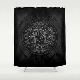 Devil's Right Hand Shower Curtain