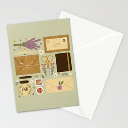 Snail Mail Stationery Cards