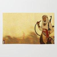 aladdin Area & Throw Rugs featuring Modern Day Aladdin by Sako Tumi