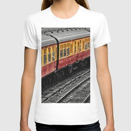 Waiting For A Train T-shirt