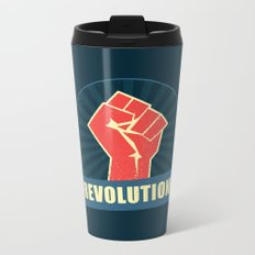 Revolution! Metal Travel Mug
