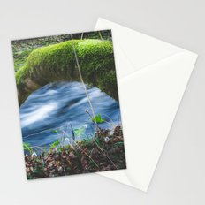Enchanted magical forest Stationery Cards