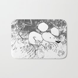 minima - deco mouse Bath Mat