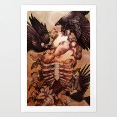 Stifled Art Print