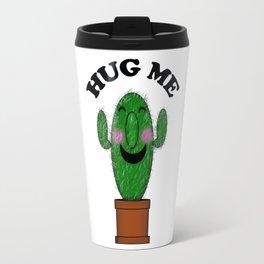 Hug Me Cactus Travel Mug