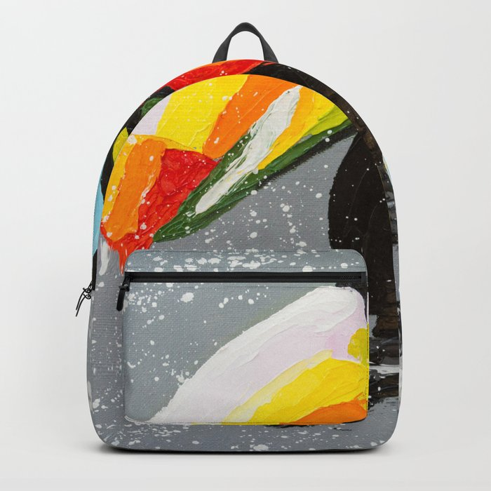 Funny Toucan Backpack