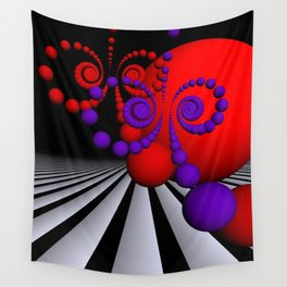 playing with colors and forms -03- Wall Tapestry
