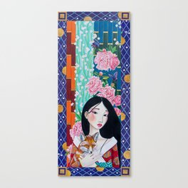 Goddess of Prosperity Canvas Print