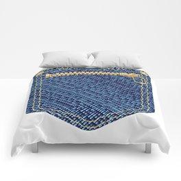 Zipper Pocket Comforters