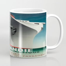 Vintage poster - Normandie Coffee Mug