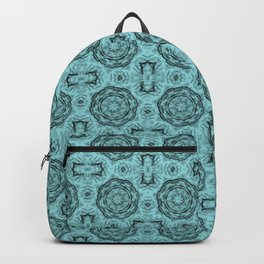 Island Paradise Doily Floral Backpack