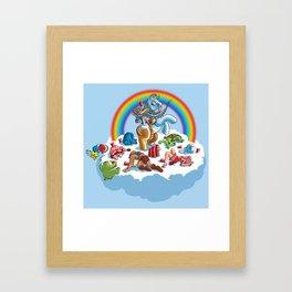 My Little Pony Keg Framed Art Print
