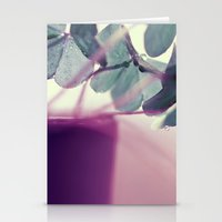 clover Stationery Cards featuring clover by Ingrid Beddoes
