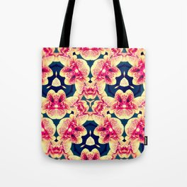 Kaleidoscope Orchids Tote Bag