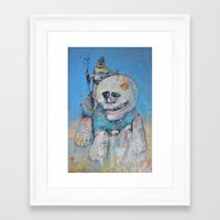 the who Framed Art Prints featuring who by Jumper