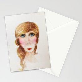 Blue Eyed Lady- Joni Stationery Cards