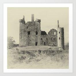 Kilchurn Castle 3 Art Print