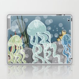 Floatin' Jellyfish Laptop & iPad Skin