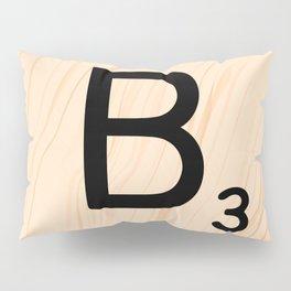 Scrabble Letter B - Large Scrabble Tiles Pillow Sham