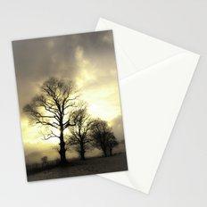 Golden Tree Portrait Stationery Cards