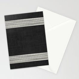 Band in Black and White Stationery Cards