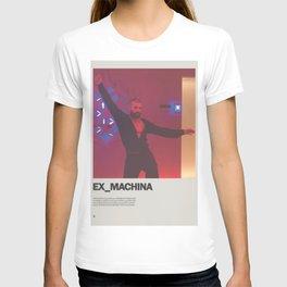 Ex Machina Minimal Movie Poster No 01 T-shirt