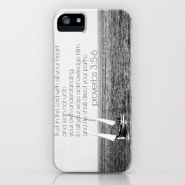 Proverbs 3 Nautical iPhone Case