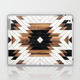 Urban Tribal Pattern No.5 - Aztec - Concrete and Wood Laptop & iPad Skin