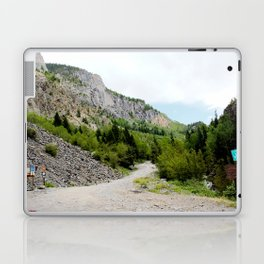 The Turnoff to the Perilous Engineer Pass Road, No. 2 of 5 Laptop & iPad Skin