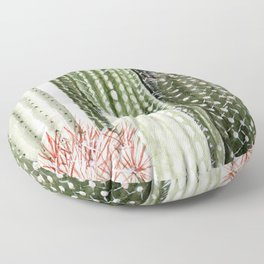 Circular Cacti Floor Pillow