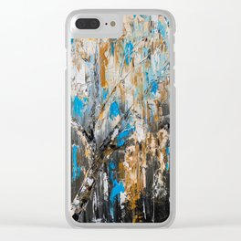Birch branches Clear iPhone Case