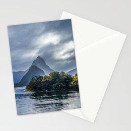 Milford Sound, fiordland national park, New Zealand Stationery Cards