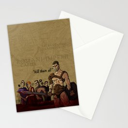 Spartacus Stationery Cards