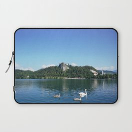 Swans in Bled Laptop Sleeve