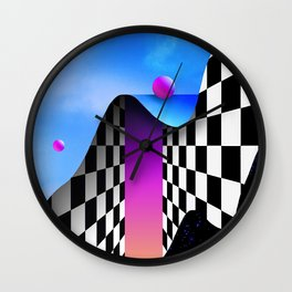 MELANCHOLYYY______UTOPIA Wall Clock
