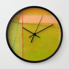 Summer Wall Clock