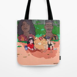 Survivor 39 Fan Art - Island of the Idols! Tote Bag