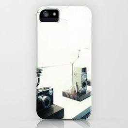 Vintage Camera Lamps iPhone Case