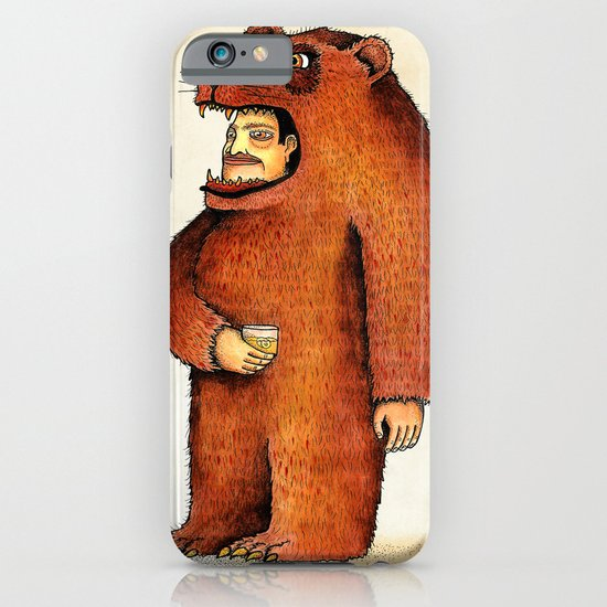 Oso pico tibio iPhone & iPod Case