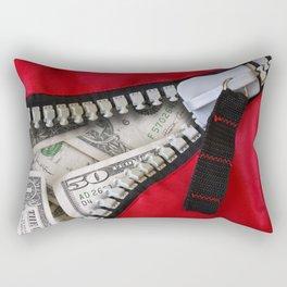 Money Bag Rectangular Pillow
