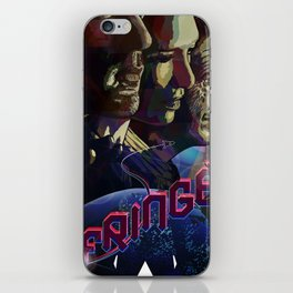 FRINGE ILLUSTRATION TV SERIES iPhone Skin