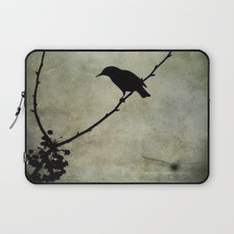 Oh Black Bird Laptop Sleeve