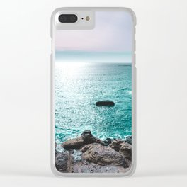 Turquoise Cove Clear iPhone Case
