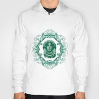 haunted mansion Hoodies featuring Haunted Mansion - In Regions Beyond Now by Joel Dickinson
